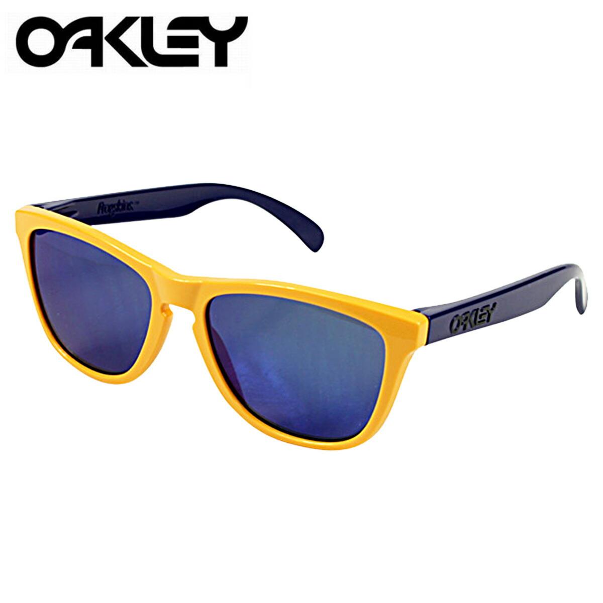 womens blue oakley sunglasses  oakley oakley sunglasses frogskins frog skin mens womens glasses 24 362 drop off x blue iridium collection aquatique unisex