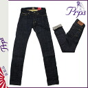ピーアールピーエス PRPS vintage denim E63P131VRINCE RAMBLER SKINNY FIT LOW RISE cotton FRONT mens Womens 2013-new INDIGO