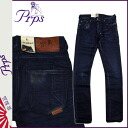 ピーアールピーエス PRPS vintage denim E63P92VRAMBLER CALYPSO SKINNY FIT LOW FRONT RISE cotton men's 2013-new