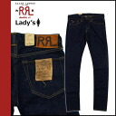 Double are L RRL DOUBLE RL Ralph Lauren vintage denim [indigo] STRETCH SKINNY FIT MADE USA's Kinney cotton Lady's