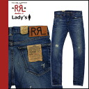 4858289 double are L RRL DOUBLE RL Ralph Lauren vintage denim [indigo] RSKF RRL STRETCH SKINNY FIT MADE USA's Kinney cotton Lady's