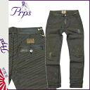 ピーアールピーエス PRPS vintage denim E63P100 PEWABIC Hickory cotton men's 2013-new