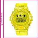 [Regular] points 2 x Casio CASIO g-shock mini watch clear yellow ladies mens watch GMN-692-9JR
