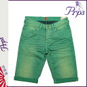 ピーアールピーエス PRPS denim shorts RAMBLER SKINNY FIT DENIM SHORT PANTS SHORTS shorts shorts short bread shorts cotton men's 2013-new