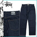 2013 ステューシー STUSSY denim underwear DENIM PANTS JEANS jeans jeans jeans bottoms men new works