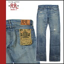 Point double double are L RRL DOUBLE RL Ralph Lauren denim jeans [indigo] jeans jeans bootcut men [regular] 02P31Aug14