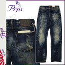 ピーアールピーエス PRPS denim jeans straight jeans jeans mens