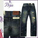 ピーアールピーエス PRPS denim jeans straight jeans G bread men's ★ ★