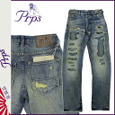 ピーアールピーエス PRPS denim jeans [ライトヴィンテージ] BARRACUDA TRAVELER mens jeans [regular] fs04gm