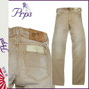 PR P S PRPS Kinney denim jeans [beige] RAMBLER DISARMED men jeans [3/31 Shinnyu load] [regular]