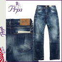 PR P S PRPS denim jeans [indigo] BARRACUDA ONWARD TRAVELER men jeans [4/9 Shinnyu load] [regular]★★