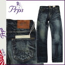 [6/9 Shinnyu load] [regular] latest for PR P S PRPS denim jeans [dark vintage] BARRACUDA WINGED BAT men jeans 2,014 years