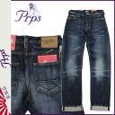ピーアールピーエス PRPS denim jeans [enzyme] BARRACUDA BLACK N BLUE mens G bread in 2014, new [6 / 7 new in stock] [regular]