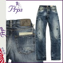ピーアールピーエス PRPS denim jeans [Indigo] BARRACUDA BUCKINGHAM FOREST mens G bread in 2014, new [6 / 9 new in stock] [regular]