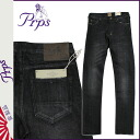 [6/7 Shinnyu load] [regular] latest for PR P S PRPS Kinney denim jeans [black] GREMLIN BLACKED OUT men jeans 2,014 years