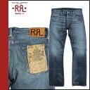 Double are L RRL DOUBLE RL Ralph Lauren denim jeans men jeans slim bootcut 2014 arrival indigo ICON CORE SLIM BOOTCUT [8/22 Shinnyu load] [regular]★★