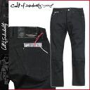 Black ROCKER SLIM [9/22 Shinnyu load] [regular] latest for カルトオブインディビジュアリティ Cult of individuality jeans denim underwear men slim fitting 2,014 years★★