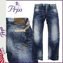 Pierre rupees PRPS denim jeans men's jeans Indigo [regular] ★ ★