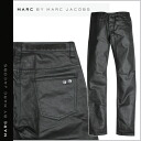 Point 2 x mark by Mark Jacobs MARC BY MARC JACOBS denim pants jeans Womens mens G bread skinny fit 2014 new Black BLACK COATED DENIM unisex [11 / 17 new in stock] [regular] ★ ★ 02P13Dec14