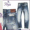 Pierre rupees PRPS denim jeans mens slim fit 2014 new Indigo ROY DEMON [11 / 21 new in stock] [regular] ★ ★