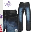 Pierre rupees PRPS denim jeans mens slim fit 2014 new rinse JAM DEMON [11 / 21 new in stock] [regular] ★ ★