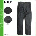 Point 2 x HUF Hough denim jeans men's 2014 new 2 color CLASSIC 5 POCKET DENIM PANTS [11 / 28 new in stock] [regular] ★ ★ 02P13Dec14