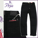 Pierre rupees PRPS denim jeans mens jeans loose straight by 2015, new black low BARRACUDA BLACKRAW [2 / 4 new in stock] [regular] ★ ★