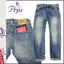 Point 2 x Pierre rupees PRPS denim jeans men's jeans straight by 2015, new 5 year wash BARRACUDA 5-YEAR-WASH [2 / 5 new in stock] [regular] ★ ★ 02P08Feb15