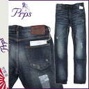 Pierre rupees PRPS denim jeans men's jeans ultra skinny 2015 new Indigo GREMLIN [2/18 new in stock] [regular] ★ ★