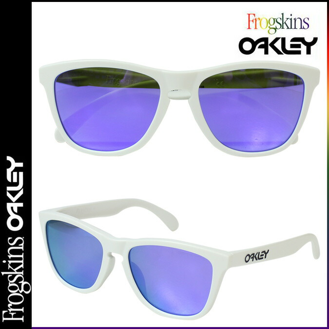 oakley womens sunglasses asian fit  oakley oakley sunglasses frogskins asian fit frog skin mens womens glasses asian fit oo9245 17 matt white × vaioletiridium unisex