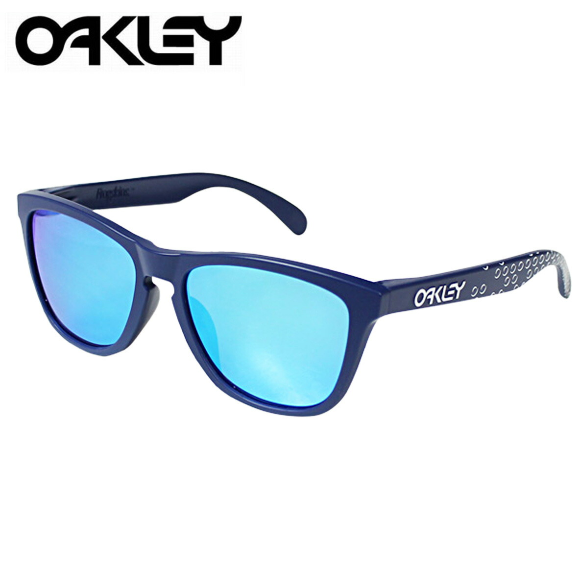 oakley glasses stock  oakley oakley sunglasses frogskins asian fit frog skin mens womens glasses asian fitting oo9245 22 blue x safire iridium unisex