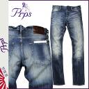 Pierre rupees PRPS denim jeans men's jeans ultra skinny 2015 spring summer new Indigo GREMLIN [3/18 new in stock] [regular]