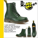 Dr. Martens Dr.Martens 1460 WOMENS 8 hole boots [Green] R11821313 MATERIAL UPDATES Leather Womens mens 8 EYE BOOTS [regular]