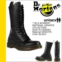 Dr. Martens Dr.Martens 1914 14 hole boots WOMENS leather women's men's R11856001 black [regular]