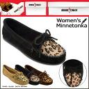 «Booking products» «11 / 6 days will be in stock» Minnetonka MINNETONKA Leopard Kirti moccasin LEOPARD KILTY MOC suede women's suede