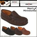 Minnetonka MINNETONKA twin Gore Moose moccasin TWHIN GORE MOOSE MOC leather men's