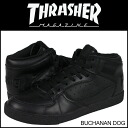 Thrasher THRASHER sneakers TSBDL-121ABK BUCHANAN DOG leather mens Womens THRASHER MAGAZINE