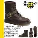 Point 2 x Dr. Martens Dr.Martens 8 hole boots [Brown] R12152202 PIER leather mens 8 EYE BOOTS [regular] P06Dec14