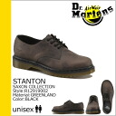 Dr. Martens Dr.Martens 4 Hall shoes R12919002 STANTON leather mens 4 EYE SHOES
