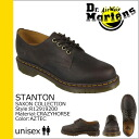 Dr. Martens Dr.Martens 4 Hall shoes R12919200 STANTON leather mens 4 EYE SHOES