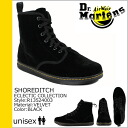 Men's women's fabric SHOREDITCH R13524003 [SOLD OUT] Dr. Martens Dr.Martens 7 holes boots [Black] [regular]
