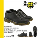 Point 10 x Dr. Martens Dr.Martens 5 Hall shoe [Black] R14775001 ABILENE leather mens Womens unisex [regular] 10P30May15
