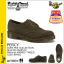 Dr. Martens Dr.Martens 3 Hall shoes R14648270 PERCY Made in England HARRIS TWEED Tweed mens Womens