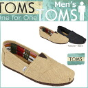 Point 2 x TOMS SHOES Toms shoes mens slip-on BURLAP MEN's CLASSICS burlap classic cotton linen Toms Toms shoes new 001004 A 2 color [regular] P06Dec14