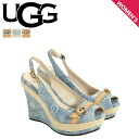 ★ 42% ★ UGG UGG women's Noelle wedge sandal 10001171 NOELLA WOMENS denim Womens