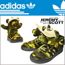 Adidas originals adidas Originals Jeremy Scott CAMOBEAR Jeremy Scott sneakers Q20917 fabric mens Womens カモベアー ObyO