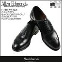 Allen Edmonds Allen Edmonds Saks Fifth Avenue キャップトゥ shoes FIFTH AVENUE 5705 カスタムカーフ leather E wise men