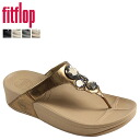 FitFlop fit flop lunetta Sandals 181-001 181-010 181-054 181-194 181-266 leather women's LUNETTA