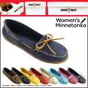 «Booking products» «11 / 6 days will be in stock» Minnetonka MINNETONKA boat moccasin BOAT MOC レザーレディース 2013 new