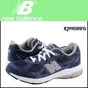 New balance new balance KJ990NVG kids women's sneakers M wise suede / mesh suede [1 / 16 restocked] [regular]